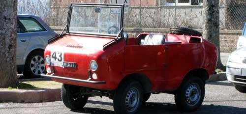 イタリアのクラッシックカー