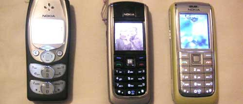 イタリアの携帯電話
