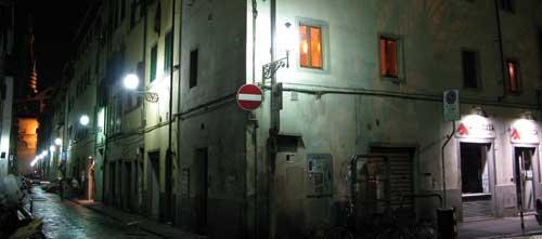 フィレンツェの夜
