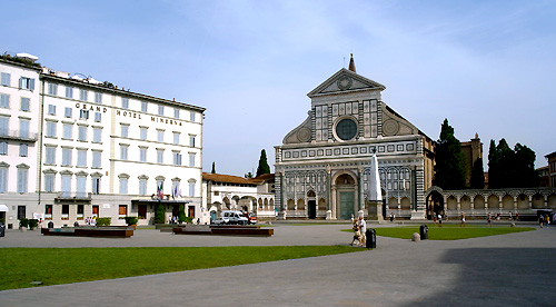 フィレンツェ、サンタ・マリア・ノヴェッラ教会