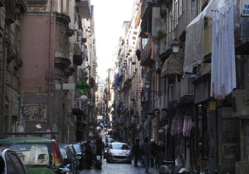 ナポリの町