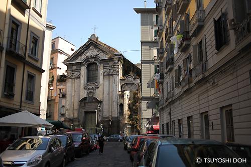 ナポリの駐車事情
