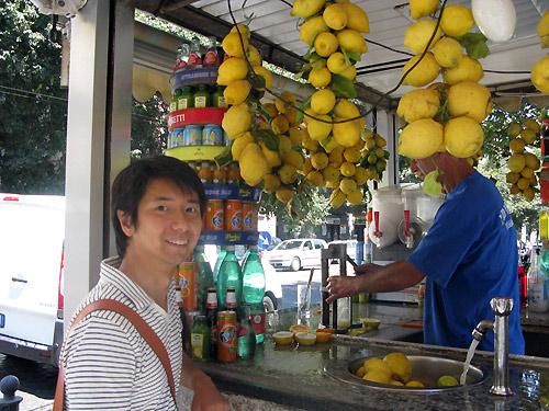 Spremuta di Limone