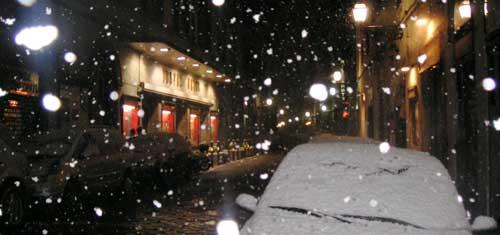 大雪のフィレンツェ