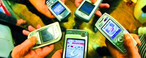 イタリアの学校で携帯電話