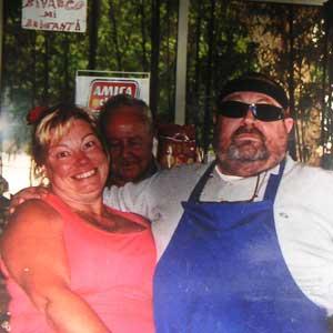 ボルセーナ湖のレストラン10
