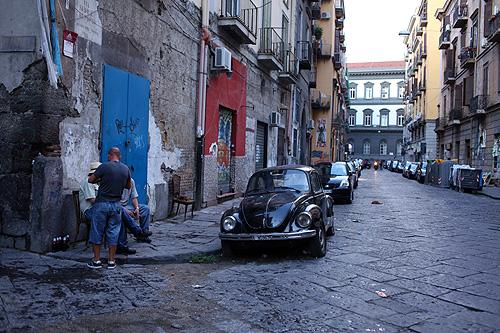 ナポリの旧市街