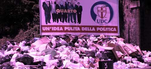 ナポリのゴミ問題